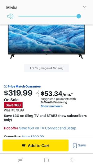 43' LG smart TV for Sale in Nashville, TN