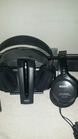 SONY TMR-IF540R MDR-CD60 Infrared and corded over-the-ear headphones headsets for Sale in Phoenix, AZ