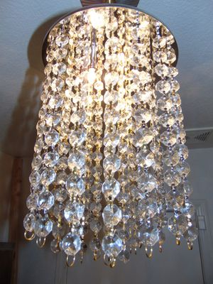 Small crystal chandelier for Sale in Las Vegas, NV