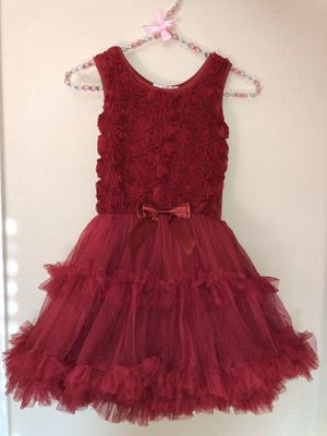 Popatu girls puffy tutu party dress, like new! Size Large for Sale in San Ramon, CA