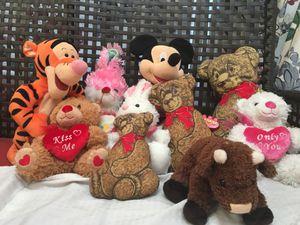 Kids Toys Bunnies and Teddy bears, summer play , fun for Sale in Richmond, VA