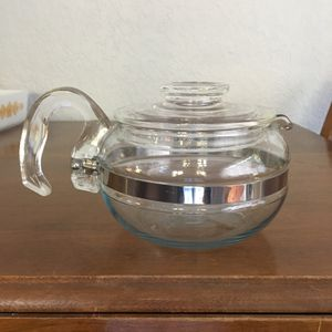 Pyrex flame Ware teapot, 4 cup for Sale in Plantation, FL