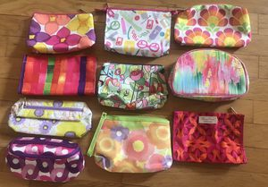 10 Clinique cosmetic bags. Never been used. for Sale in Addison, TX