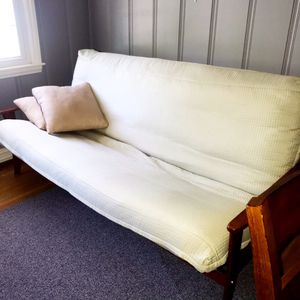 Sturdy Wood Queen Size Futon for Sale in Tewksbury, MA