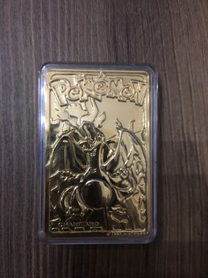 Pokemon Charizard Gold Card Bar for Sale in Brentwood, CA