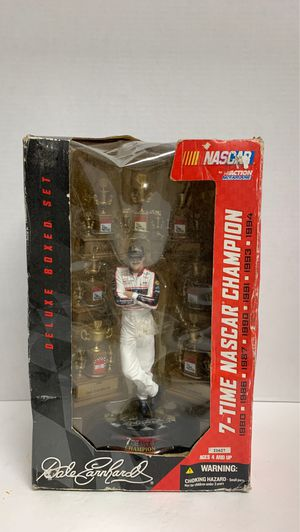 2004 DALE EARNHARDT Doll 7 TIME CHAMPION Deluxe Boxed Set Action Figure NASCAR Toy for Sale in Missouri City, TX