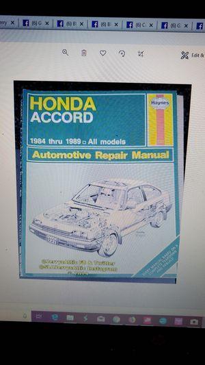 Choice of auto service books for Sale in San Luis Obispo, CA