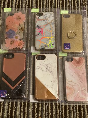 iPhone 7 (not plus) phone cases. for Sale in Fresno, CA
