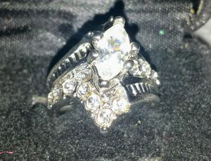 Unique White Sahppire Wedding Ring for Sale in Hilliard, OH