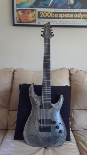 Schecter Apocalypse C7 (7 string) guitar for Sale in Port Barrington, IL