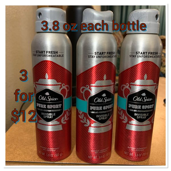 Old spice deodorant spray bundle