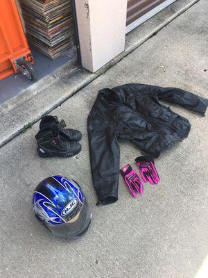 Women's motorcycle gear for Sale in Waldorf, MD