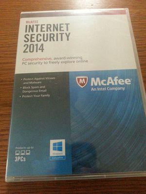 McAfee Internet security 2014 for Sale in Reston, VA
