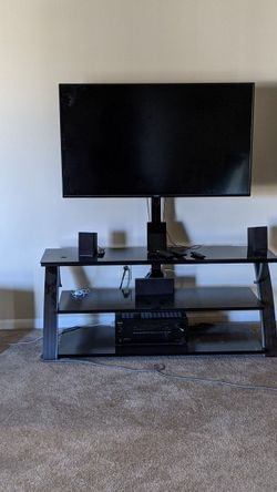 50 inch 4k, Onkyo sound system, TV stand for Sale in Hilliard,  OH