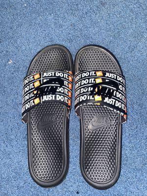 Nike slides for Sale in Elmira, NY