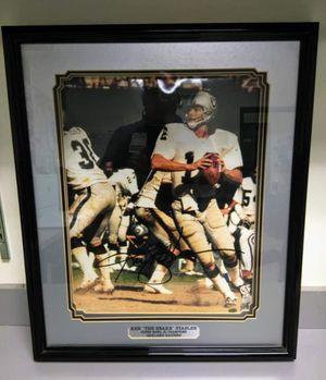 Ken Stabler 16x20 Autographed Photo for Sale in Lathrop, CA