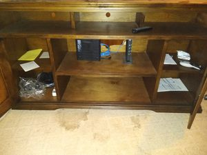 Good condition tv stand for Sale in San Antonio, TX