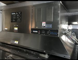 "Giles 60"" Ventless Hood for Electric Ovens Filtration Horno eléctrico con campana sin ventilación for Sale in Anaheim, CA"