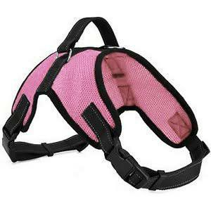 Adjustable Reflective Dog Harness Oxford Pet Harness pink size medium for Sale in Hawthorne, CA