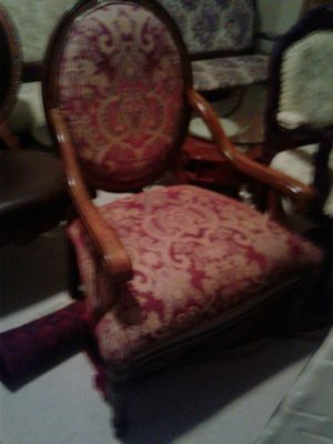 9 Piece custom antique furniture wait 2 coffee for Sale in Alexandria, VA