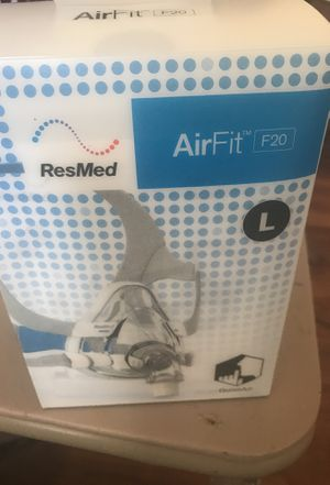 ResMed AirFit F20 Full Face Mask Size Large for Sale in Baltimore, MD