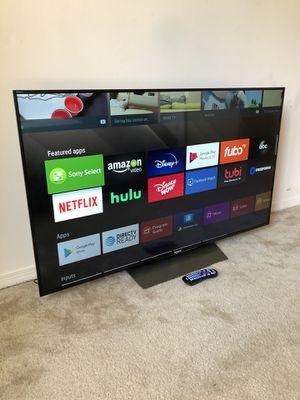 Like New 55 Inch 4K Sony Smart Television w/Remote (ULTRA SLIM) for Sale in Greensboro, NC