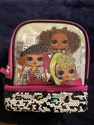 LOL Surprise Insulated Dual Lunch Tote TOY Bag Box Magic Sequin Omg Stand Out . Condition is New with tags. Shipped with USPS Priority Mail. Brand ne for Sale in Washington, DC