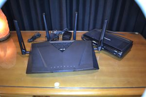 Asus RT-AC3100 c1900 modem for Sale in Glendale, AZ