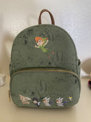 Disney Peter Pan Loungefly mini backpack The Lost Boys Tinkerbell for Sale in Las Vegas, NV