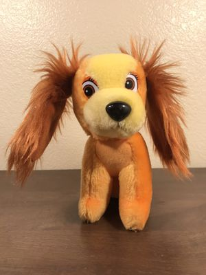 """Walt Disney Lady and The Tramp Plush Classic 7"""" Toys Stuffed Animals Dog for Sale in Murray, UT"""