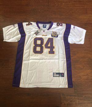 Randy Moss Reebok On Field Size 52 XL Jersey for Sale in Miami, FL