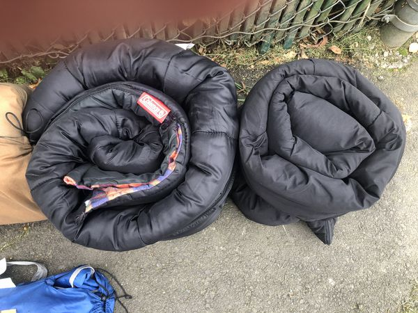 Coleman sleeping bags and more