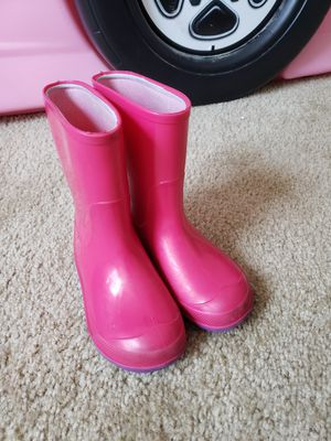 Pink Rain Boots for Sale in Richmond, VA