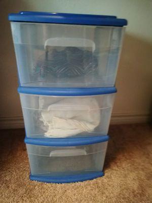 Sterilite Home Storage Cart Portable Container for Sale in Dallas, TX