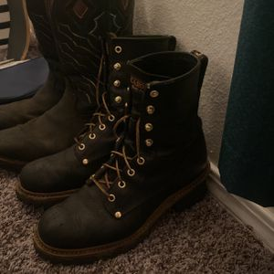 Carolina Logger Work Boots Men's 8D $70 for Sale in Oklahoma City, OK