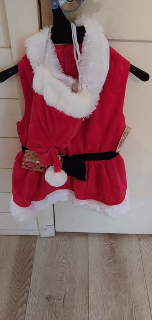 Dog santa suit for large dog L/XL for Sale in Spring, TX