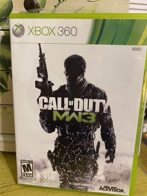 Xbox 360 call of duty mw3 game for Sale in Wallingford, CT
