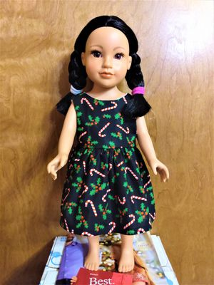 "American Girl Or 18"" inches doll dress made to fit 18 inches dolls Perfect for gift for your child favorite doll for Sale in Peoria, IL"