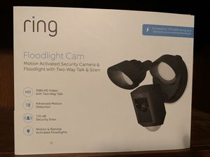 Ring Wired Floodlight Camera (new in box) for Sale in Cypress, TX