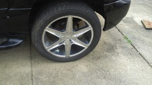 Chevy GMC Cadillac 22 inch rims for Sale in North Springfield, VA