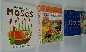 3 Christian themed small folks board books for Sale in Westchester, CA