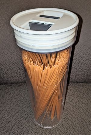 2 liter Pasta Storage Plastic Container w/ Airtight Lid for Sale in Sunnyvale, CA