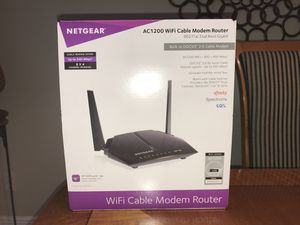 WiFi Cable Modem Router for Sale in Oviedo, FL