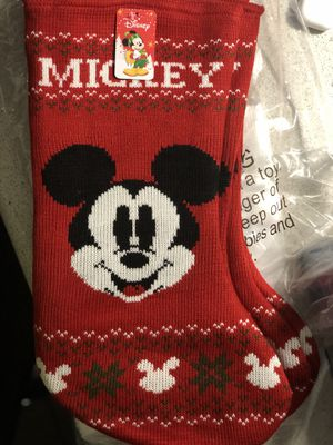 Brand New Mickey Mouse Knitted Stocking for Sale in Montebello, CA