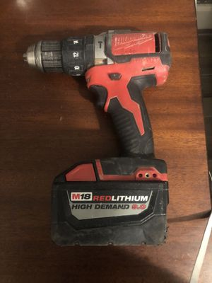 Milwaukee drill no charger for Sale in Tolleson, AZ