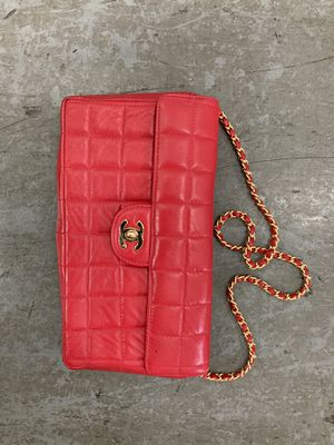 Vintage Chanel red chain bag for Sale in Miami Beach, FL