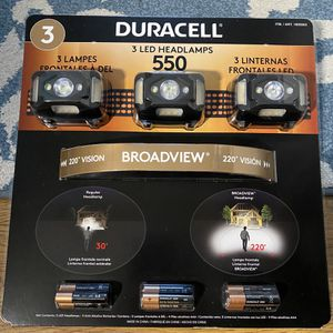Duracell LED Headlamps (3 Pack)- New for Sale in Torrance, CA