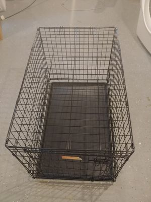 Medium size foldable dog crate for Sale in Elsmere, DE