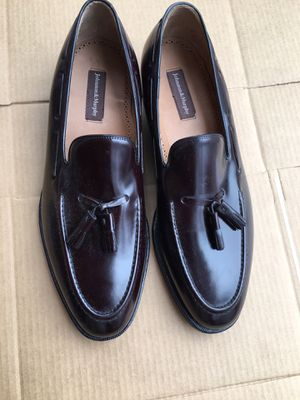 New Johnson & Murphy's cordovan leather loafers sz 13 for Sale in Chevy Chase, MD