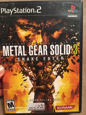 Metal Gear Solid 3 (PS2) for Sale in Fairfax, VA